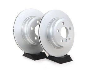 ES#3096724 - 34216793247pKT1 - Rear Brake Rotors - E70 X5 3.0si, 35i, E71 X6 35i, F15 X5 35d, 35i(pair) - Pagid - BMW