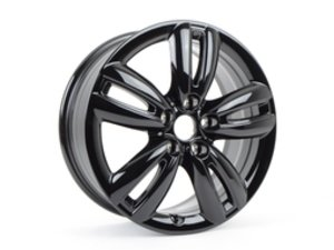 "ES#2817388 - 36116856057 - 501 MINI Track Spoke Wheel 17"" (5x112) Black - Priced Each - 7J X 17 ET:54 - Genuine MINI - MINI"