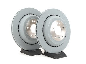ES#2681377 - 1644231312KT4 - Rear Brake Rotors - Pair (330x22) - Does not include new rotor securing screws - Brembo - Mercedes Benz