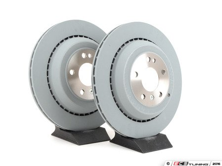 ES#2681377 - 1644231312KT4 - Rear Brake Rotors - Pair - Does not include new rotor securing screws - Brembo - Mercedes Benz
