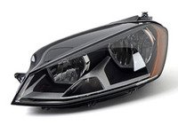 ES#3184202 - 011956231 - Halogen Headlight Assembly - Left - 5GM941005C - OE quality replacement to restore lighting - Hella - Volkswagen