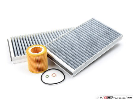 ES#2634280 - 88002334980 - Inspection 1 Kit - New cabin filters and oil filter - just add oil! - Genuine BMW - BMW