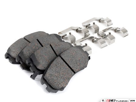 ES#3138758 - 58101-2HA10 - Brake Pad Set - Front - Bosch -