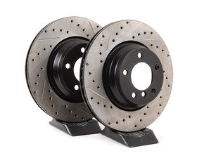 Pair Pagid Front Brake Rotors 330x24 - 34116764645KT