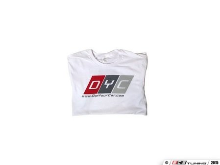 ES#3138424 - TSEG161M - DYC Motorsport T-Shirt - Medium - Show DYC pride with this cotton shirt - DipYourCar - Audi BMW Volkswagen Mercedes Benz MINI Porsche