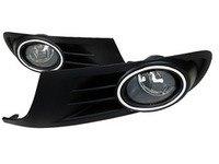 ES#3139186 - LFGLF10COEMDL - Fog Light Conversion Kit - OEM Style fog light kit with clear lenses - Spec-D Tuning - Volkswagen