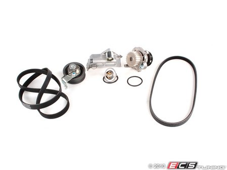 ES#1542 - AWMTBKV2 EV - Ultimate Timing Belt Kit - Complete kit to service your timing belt, water pump, and thermostat - Assembled By ECS - Audi