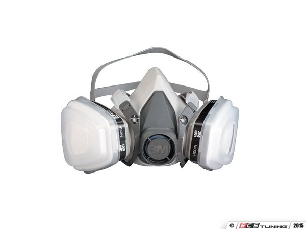 ES#3139181 - 3m7192 - Dual Cartridge Paint Respirator - Medium - Paint safely with proper equipment - 3M - Audi BMW Volkswagen Mercedes Benz MINI Porsche