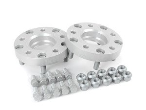 ES#7283 - 50795725 - TRAK+ Wheel Adapter - 25mm Thickness - Adapts Porsche wheels (5x130 bolt pattern, 71.6mm center bore) to your BMW (5x120 bolt pattern, 72.6mm center bore) - H&R - BMW