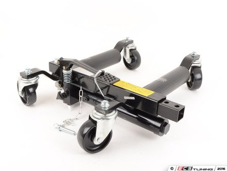 """ES#2932640 - ATD7465 -   12"""" Vehicle Positioning Jack - Priced Each - Put 4 of these wheel jacks under your car and make moving in and out of tight spots easy work. - ATD Tools - Audi BMW Volkswagen Mercedes Benz MINI Porsche"""