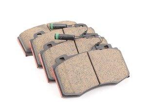 ES#2792879 - 1634201020 - Front Brake Pad Set  - Does not include new brake pad wear sensor - Brembo - Mercedes Benz