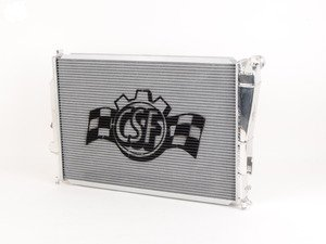 ES#2992660 - 7058 - High Performance Aluminum Radiator - Ultra-efficient dual-core, triple-pass radiator from the leader in E46 M3 cooling. Cooler engine temps mean more power and longer life of engine components. - CSF - BMW