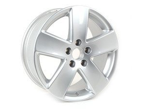 "ES#343390 - 3C0601025E88Z - 17"" Monte Carlo - Priced Each  - 17""x7.5"" ET47 5x112 - Brilliant Chrome - Genuine Volkswagen Audi - Volkswagen"