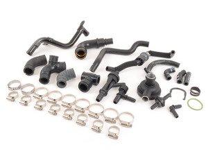ES#2219677 - 06A103247 - Emissions Service Kit - Complete PCV Kit for your engine - Assembled By ECS - Audi