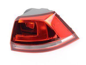 ES#3136135 - 5GM945096D - Darkened Outer Tail Light Assembly - Right - Adds amber turn signals, includes bulb holder - Genuine European Volkswagen Audi - Volkswagen