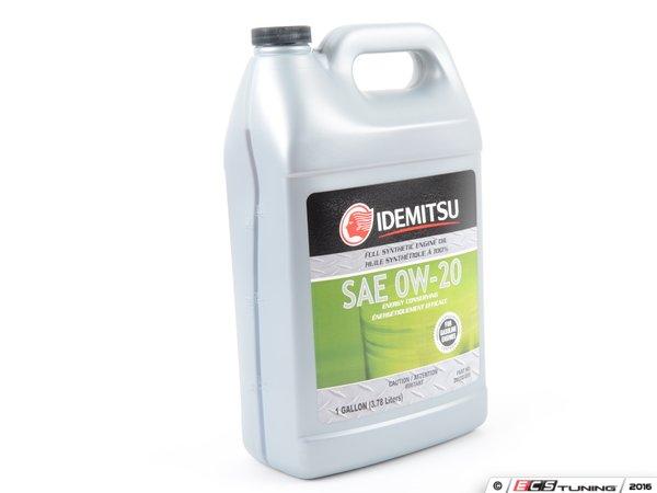 Idemitsu 20102059 Motor Oil 0w 20 Gf 5 1 Gallon