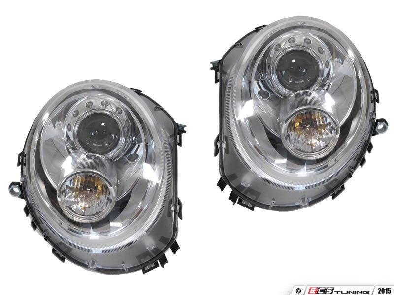 ECS News - Spyder MINI Cooper Projector Blackout LED DRL