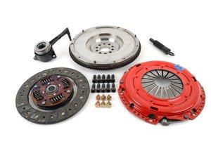 ES#2960233 - k70287hdosmfKT - Stage 2 Daily Clutch Kit - With Single Mass Flywheel - Designed for the daily-driven, weekend track warrior. Conservatively rated at 400ft/lbs. - South Bend Clutch - Volkswagen