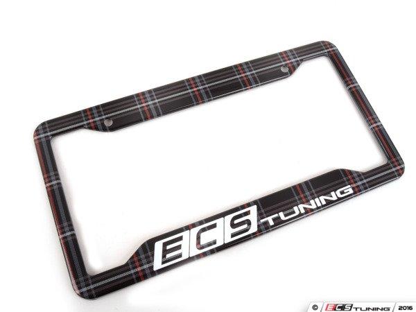 ecs x klii - k8pf22 - ecs x klii license plate frame