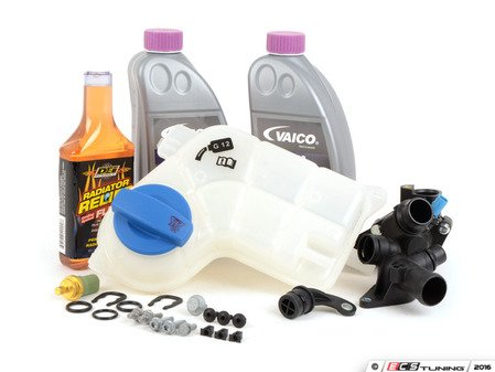 ES#2608083 - 06B121132EKT2 - Cooling System Refresh Kit - Level 3 - Replace critical cooling system components and perform a proper coolant system flush - Assembled By ECS - Audi