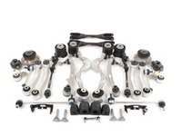 ES#2986841 - 31102283576UKT1 - Front And Rear Suspension Refresh Kit - Level 3 - Total front and rear suspension rebuild kit utilizing M3 front and rear control arms with bushings and subframe bushings - with high quality aftermarket components - Assembled By ECS - BMW