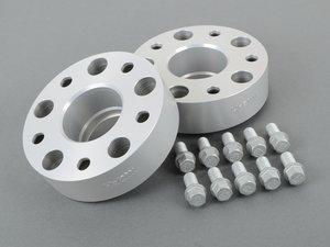 ES#1304102 - 90957160 - DRA Series Wheel Spacers - 45mm (1 Pair) - Wider is better - H&R - Volkswagen Porsche
