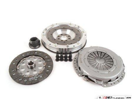 ES#3108293 - 520-040-215KT - JB Racing Lightweight Aluminum Flywheel & Clutch Kit - Includes a JB Racing aluminum single-mass flywheel and a new OE Sachs clutch! - Assembled By ECS - BMW