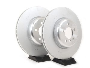 ES#3096320 -  34106797606ktKT - Front Brake Rotors - Pair - Factory Direct Replacement (370x30) - Genuine BMW - BMW
