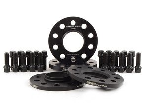 "ES#3138548 - 003462ECS01KT -  Wheel Spacer Flush Fit Kit - Black Bolts - Aggressive - Includes spacers & Black bolts to obtain a flush look on your OE 19"" 'Peeler' style wheels - ECS - Audi"