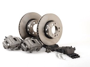 ES#3234557 - 315BBKKT - OE Front Big Brake Kit (315x28) - Upgrade to E34 M5 315x28mm front brakes for your daily driver. With everything you need including calipers & carriers, stainless steel brake lines, plus OE pads and rotors. - Assembled By ECS - BMW