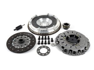 ES#3108289 - 520-160-240KT - JB Racing Lightweight Aluminum Flywheel & Clutch Kit - Includes pressure plate, throwout bearing & clutch disc - Assembled By ECS - BMW