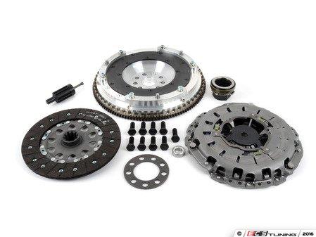 ES#3108289 - 520-160-240KT - JB Racing Lightweight Aluminum Flywheel & Clutch Kit - Includes pressure plate, throwout bearing & clutch disc - Assembled By ECS - BMW