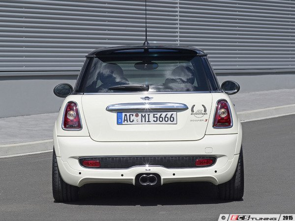 "ES#3131759 - 511450225 - Rear Sticker ""Technology & Design"" - Black  - Traditional AC Schnitzer crest decal - AC Schnitzer - MINI"