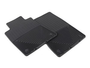 ES#2194925 - W37 - Front Rubber Mats - Black - All-weather protection to endure the harshest conditions - WeatherTech - BMW