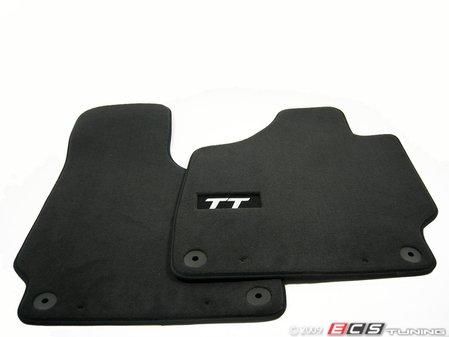 ES#2062581 - 8J1068002 - TT Carpeted Floor Mats - (No Longer Available) - Add new TT carpeted floor mats and add some style to your Audi  - Genuine Volkswagen Audi -