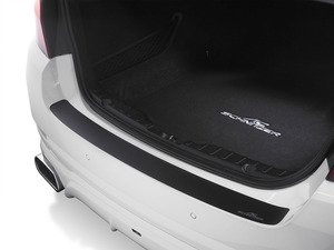 ES#3137584 - 511256120 - Rear Bumper Protection Foil - Black - Black stick on protective decal - AC Schnitzer - MINI