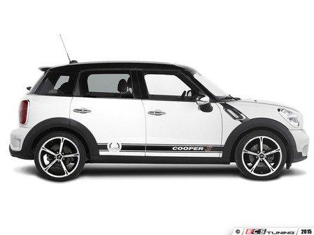 "ES#3132739 - 5114660320 - Decal Set Cooper S ""Technology & Design"" - Black - Runs the lower body wheel arch to wheel arch - AC Schnitzer - MINI"