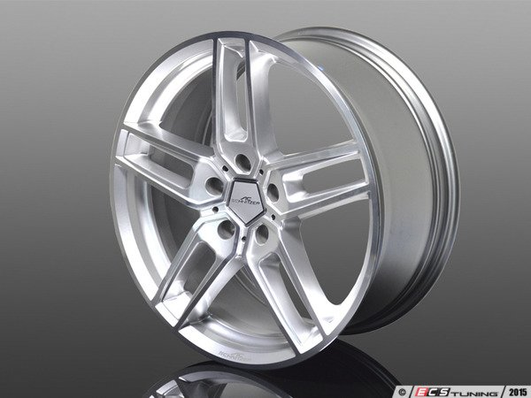 "ES#3132760 - 3611210450 - Type VIII BiColor Silver Wheel 20"" ( 5x120 ) - Priced Each - 20""x8.5"" 5x120 ET43 - AC Schnitzer - BMW MINI"