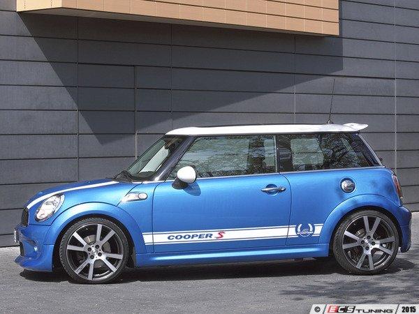 "ES#3131756 - 511455310 - Decal Set Cooper S ""Technology & Design"" - White - Runs the lower body wheel arch to wheel arch - AC Schnitzer - MINI"