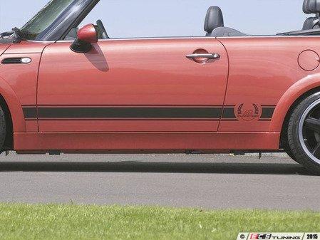 "ES#3132611 - 5114660220 - Decal Set Cooper ""Technology & Design"" - Black  - Runs the lower body wheel arch to wheel arch - AC Schnitzer - MINI"