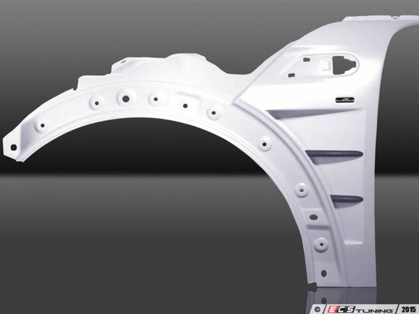 ES#3131428 - 413556210 - Sport Fenders Vented - Pair - Aggressive vent style side fender replacements, primed and ready to paint - AC Schnitzer - MINI