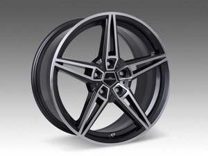 "ES#3132740 - 3611902008 - Type VIII BiColor Black Wheel 18"" ( 5x120 ) - Priced Each - 18""x8.5"" 5x120 ET43 - AC Schnitzer - BMW MINI"