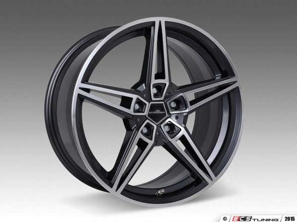 "ES#3131592 - 36112563027KT1 - AC Schnitzer JCW AC1 BiColor Wheel 19"" ( 5x112 ) - Set Of Four - 19""x7.5"" 5x112 ET49 with 4 Adapter kits for JCW brake car - AC Schnitzer - MINI"