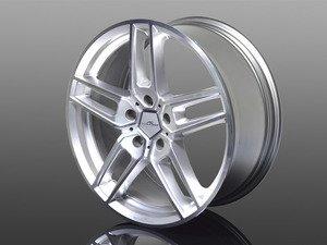 "ES#3132756 - 361190200 - Type VIII BiColor Silver Wheel 18"" ( 5x120 ) - Priced Each - 18""x8.5"" 5x120 ET43 - AC Schnitzer - BMW MINI"