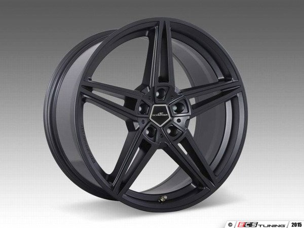 "ES#3131595 - 36112563029KT -  AC Schnitzer AC1 Anthracite Wheel 19"" ( 5x112 ) - Set Of Four - 19""x7.5"" 5x112 ET49 with 4 Adapter kits for NON JCW brake car - AC Schnitzer - MINI"