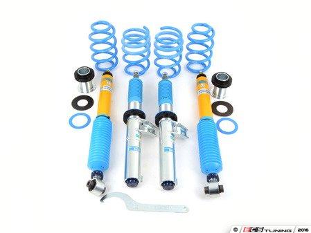 ES#3142836 - 48-251570 - Bilstein B16 PSS10 Coilover Kit - 10-Stage damping adjustable, Average lowering front: 15-35mm, Rear: 15-35mm - Bilstein - Audi Volkswagen
