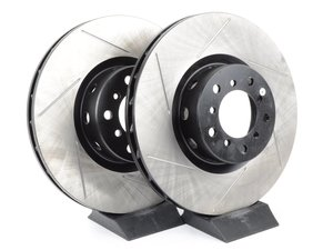 ES#3025763 - TMS3077 - Gas-Slotted Brake Rotors - Front  - This design removes performance robbing outgas and material dust caused by braking - StopTech - BMW