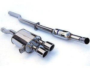 "ES#3143000 - HS14MCSG3S - 2.36"" Cat-Back Exhaust System - Featuring 101mm dual rolled stainless tips! - Invidia - MINI"