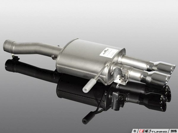 ES#3131583 - 18122564209 - AC Schnitzer Silencer / Valved Exhaust System Black Tips - JCW - Push button sound changing exhaust - AC Schnitzer - MINI