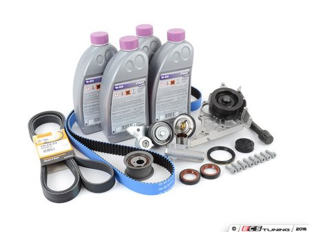 ES#2608081 - 077109479DKT - Ultimate Plus Timing Belt Kit With Gates Racing Belt - Looking for the best timing belt kit on the market? Look no further than ECS Tuning - Assembled By ECS - Audi